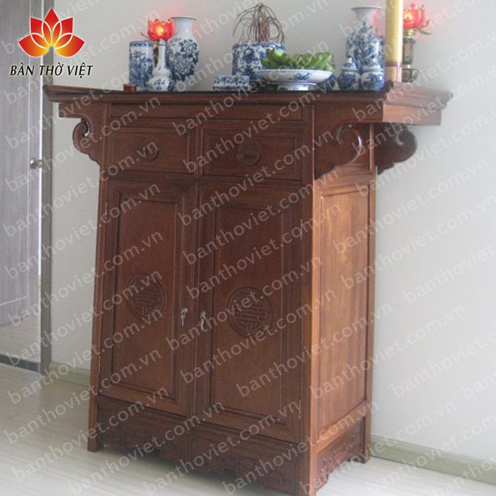 Những mẫu thiết kế tủ thờ ở phòng khách sang trọng Nhất