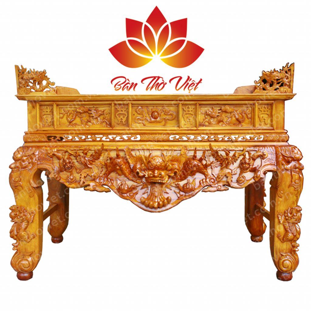 Những mẫu sản phẩm sập thờ ở Hà Nội có tại Bàn Thờ Việt