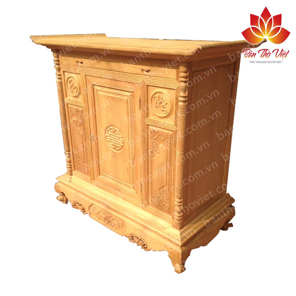 Một số mẫu tủ thờ gỗ gụ đẹp nhất hiện nay