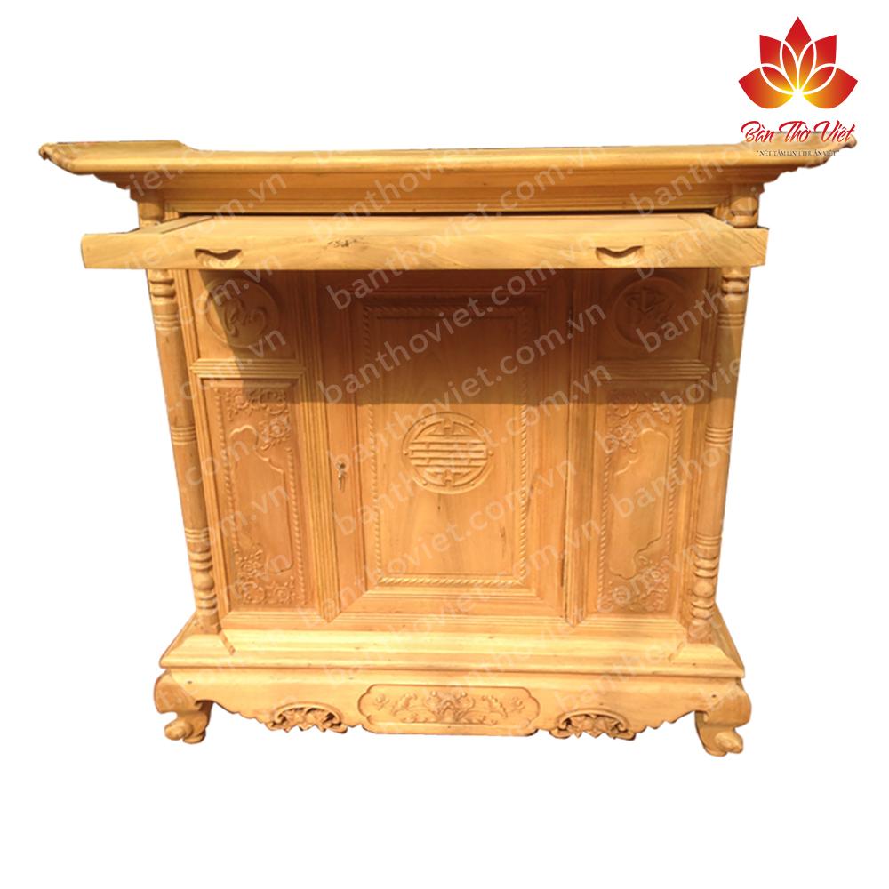Một số mẫu tủ thờ gỗ dâu đẹp, giá rẻ