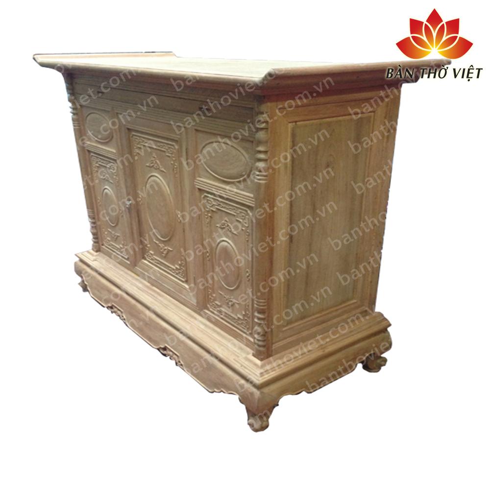 Các mẫu tủ thờ xoan đào đẹp nhất hiện nay