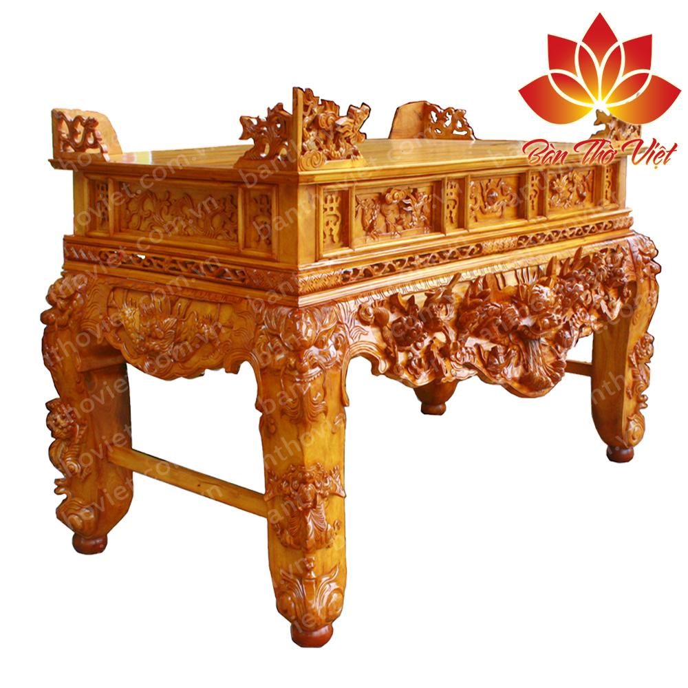 Những mẫu sập thờ gỗ gụ được ưa chuộng nhất