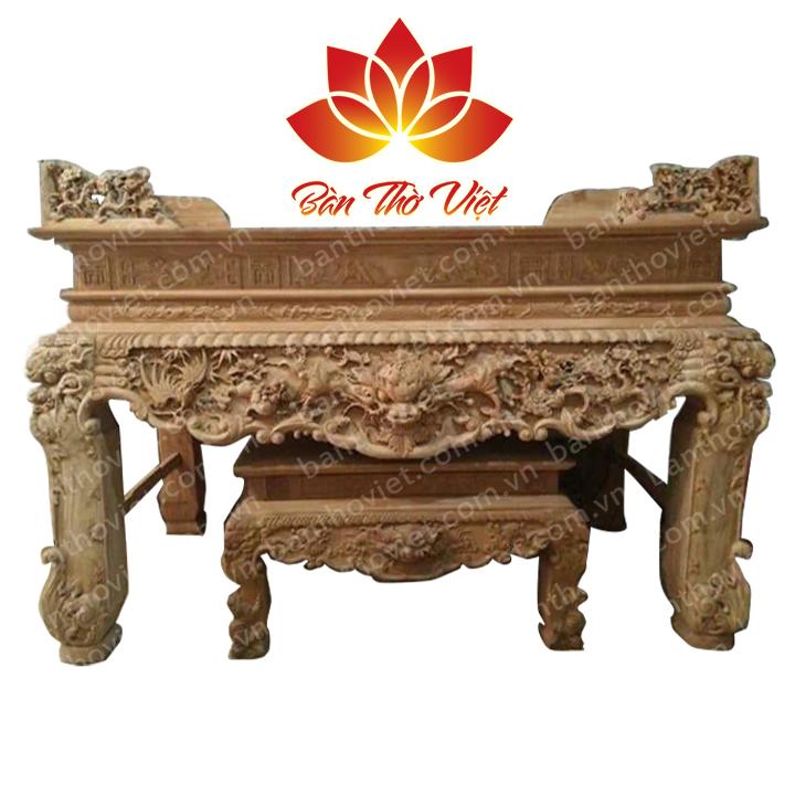 Những mẫu sập thờ gỗ gụ đẹp giá rẻ