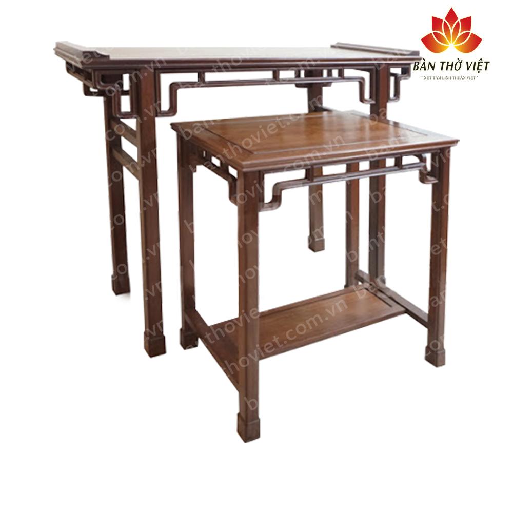 Bàn thờ dùng gỗ gì tốt Nhất, vừa rẻ lại vừa bền?