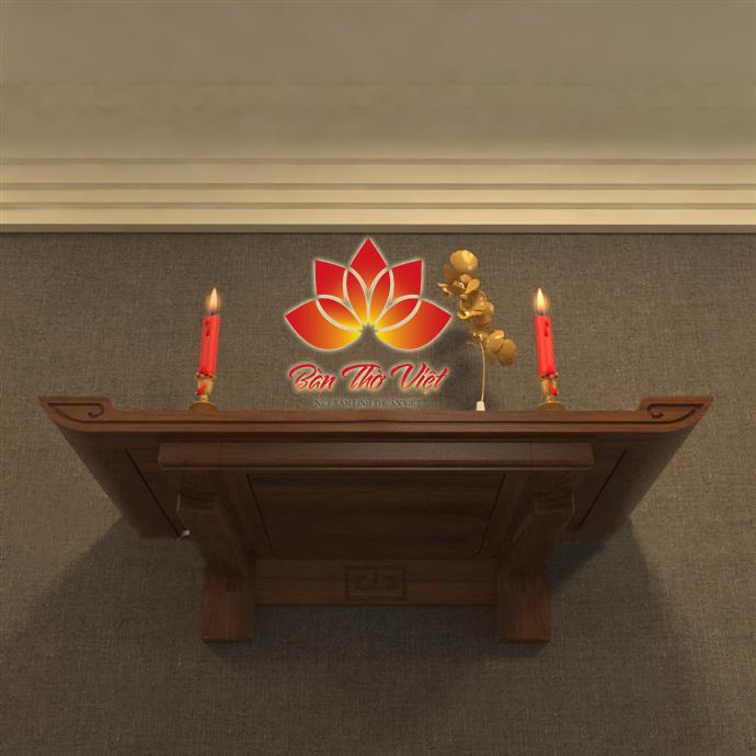 Các mẫu bàn thờ treo gỗ sồi Đẹp - Chất Lượng - Giá Rẻ
