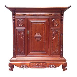 Tủ thờ nên dùng gỗ gì vừa mang nhiều ý nghĩa vừa bền đẹp