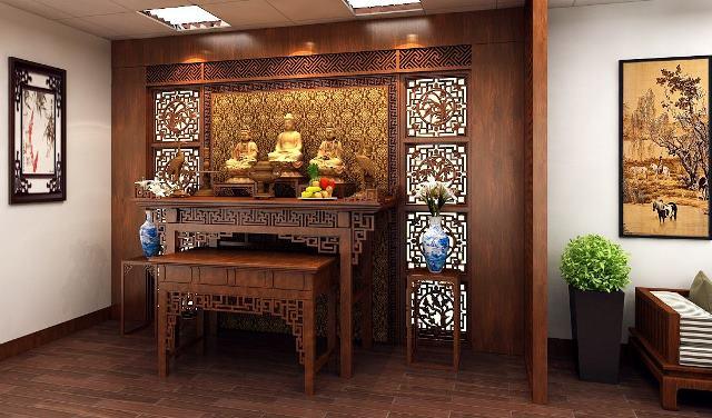 Cách trang trí bàn thờ đẹp ngày tết cho không gian Việt