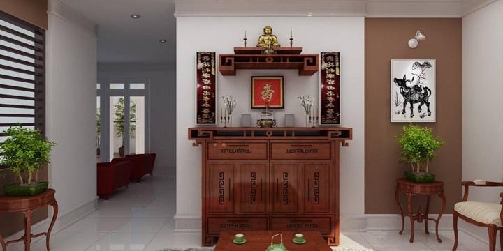 Cách thờ phật và Bài trí bàn thờ Phật chuẩn phong thủy