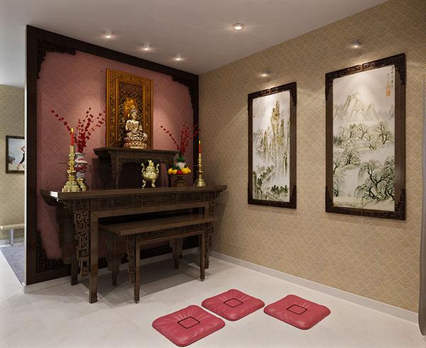 7 mẫu bàn thờ kiểu hiện đại Sang Trọng - Đẳng Cấp nhất 2018