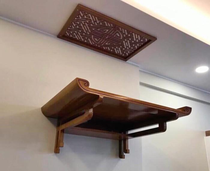 Tổng hợp một số mẫu bàn thờ treo tường chung cư giá rẻ