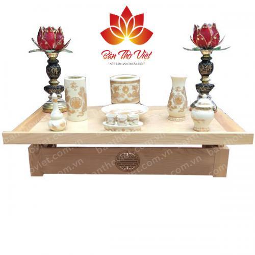 Những mẫu bàn thờ ông Táo đẹp cho mọi không gian
