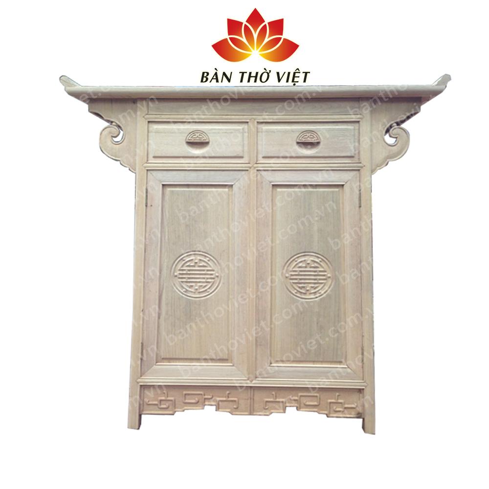 Chất liệu gỗ cao cấp giúp tăng giá trị sản phẩm tủ thờ chữ A